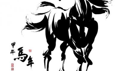 2014-Year-of-horse-Vector-591x650