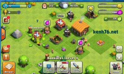 choi game Clash Of Clans tren pc