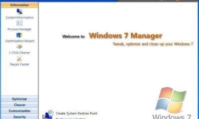 Yamicsoft Windows 7 Manager 4