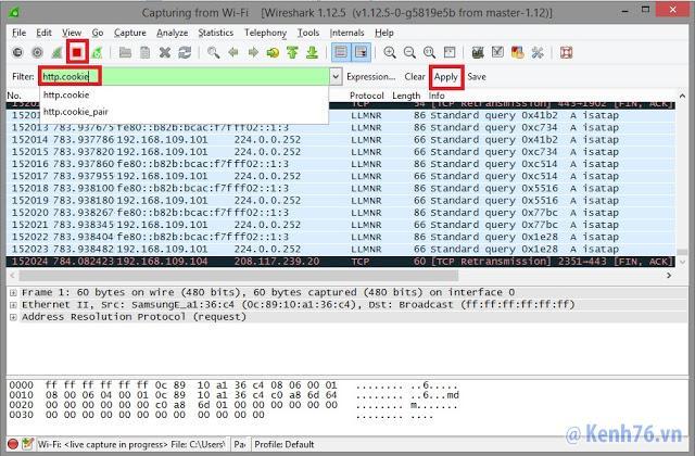 Cách hack pass tài khoản Facebook Gmail trong cùng mạng WIFI, LAN
