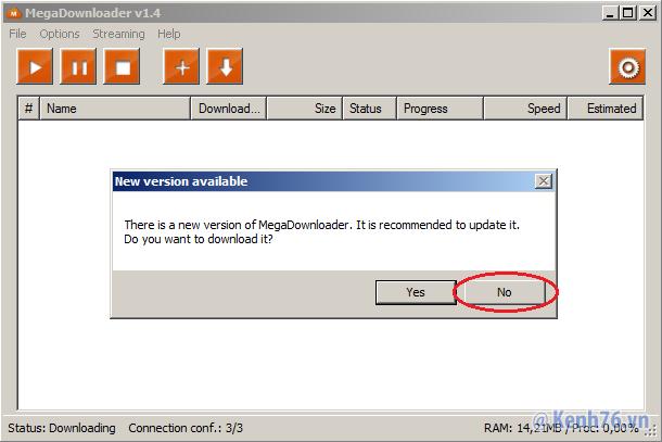 Leech link Mega.nz không giới hạn bằng IDM với tốc độ max VIP