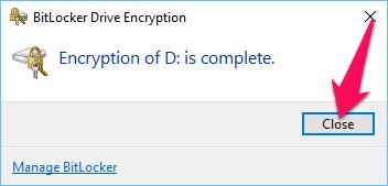 Hướng dẫn cách khóa ổ đĩa không cần phần mềm với Bitlocker