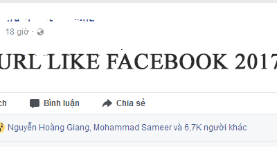 code auto like facebook 2017