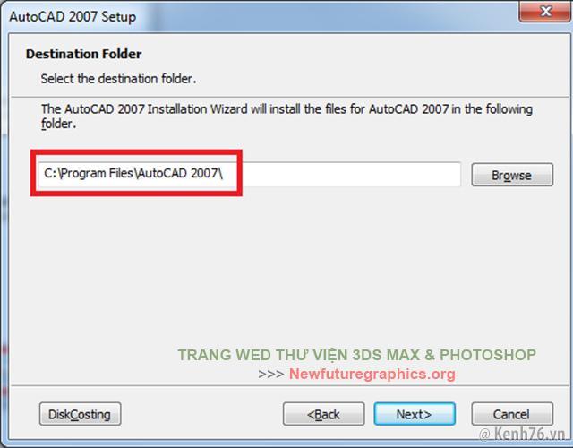 Download AutoDesk Autocad 2007 Full Crack + Hướng dẫn cài đặt chi tiết