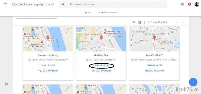 Hướng dẫn tạo website Google Doanh Nghiệp trên Business.site