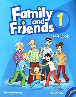 Trọn bộ Family and Friend - Kèm CD